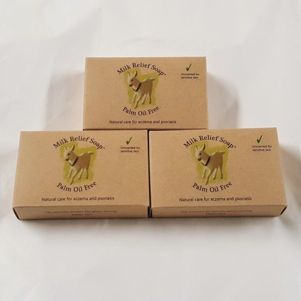 Goat Milk Soap UK pack